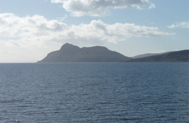 Holy Isle from the north