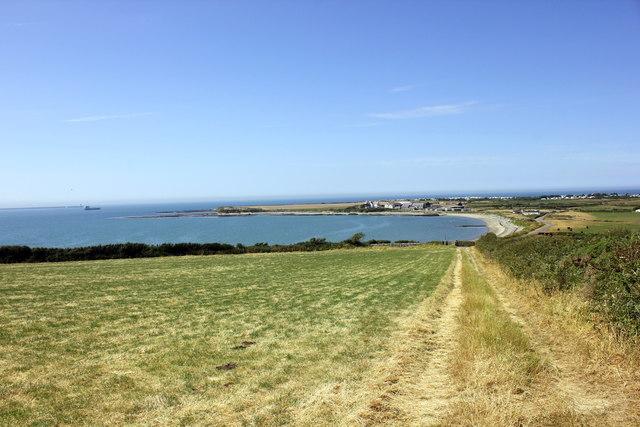 The Anglesey Coastal Path approaching Porth Penrhyn-mawr