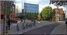 SK5804 : New office blocks at Welford Place by Mat Fascione