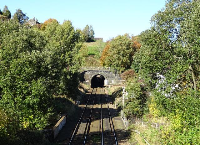 Winterbutlee Railway Tunnel, Walsden