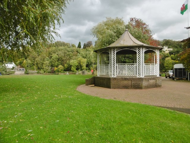 Chepstow, bandstand