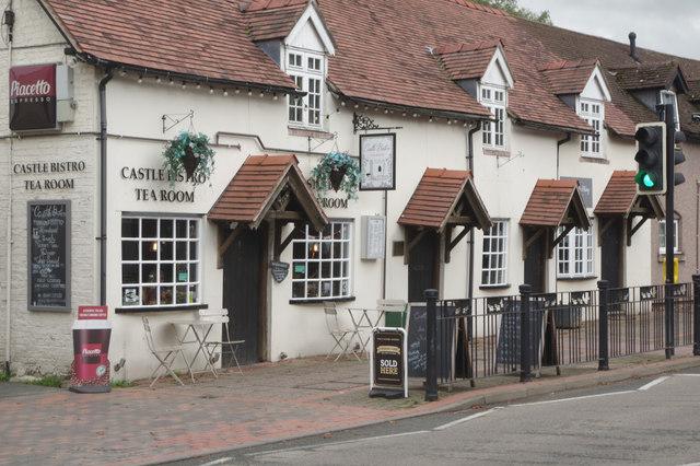 Castle Bistro Tea Room, Chirk