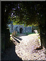 TM4198 : All Saints Church Path, Thurlton by Adrian Cable