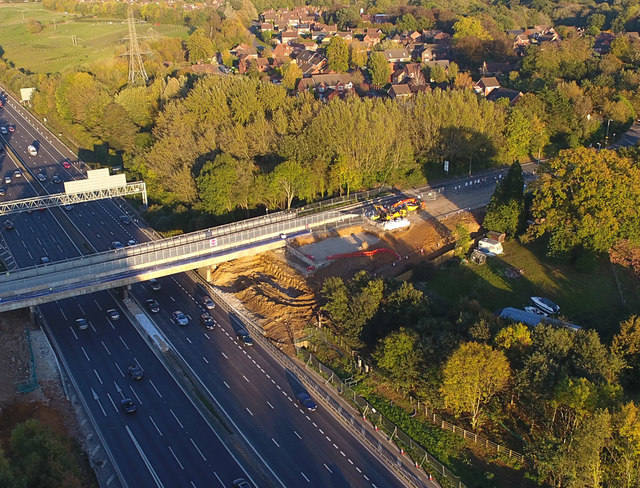 Old Romsey Road bridge replacement works