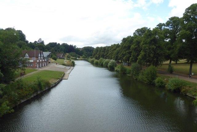 Severn from Kingsland Bridge