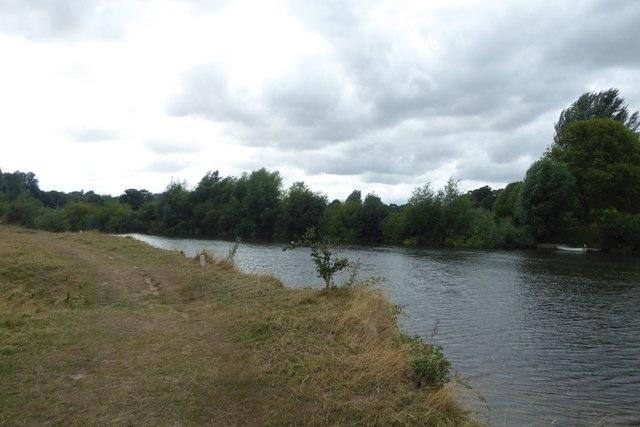 River Severn from Poplar Island