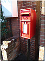 TM4198 : Thurlton Post Office Postbox by Adrian Cable