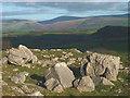 SD5579 : Limestone boulders, Newbiggin Crags by Karl and Ali
