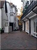 TQ5838 : Walkway in the Pantiles, Tunbridge Wells by Roger Jones