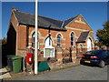 TM4198 : Norton Subcourse Methodist Church & The Street Postbox by Geographer