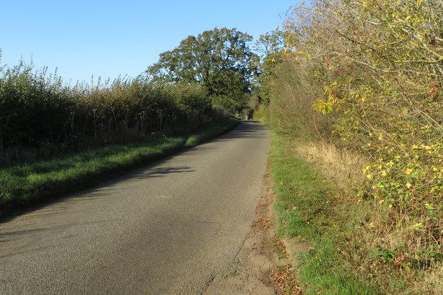 The road to Kislingbury