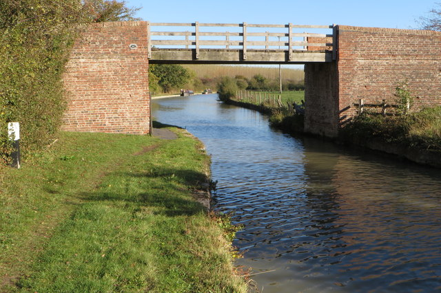 Canal bridge and Towing Path