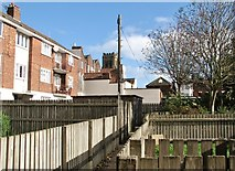 TG5207 : Flats south of Nottingham Way by Evelyn Simak
