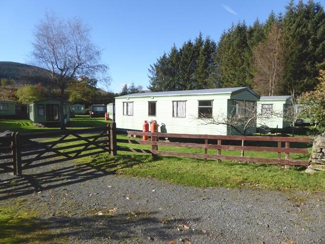 Caravans at Angecroft Caravan Park