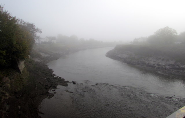 Foggy River Usk, Caerleon