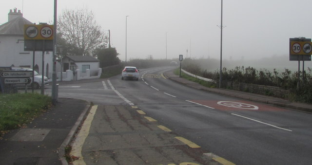 From 20 to 30 on the B4596, Caerleon