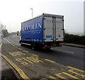 ST3490 : Ferryman lorry on the B4596, Caerleon by Jaggery