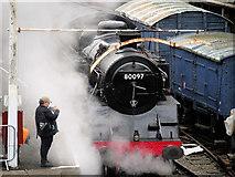 SD8010 : Standard Class 4 Locomotive in Steam by David Dixon
