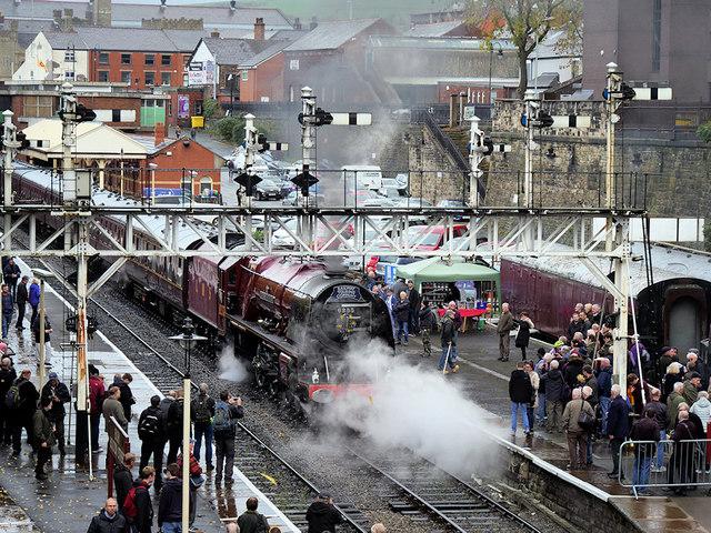 Winter Steam Gala, Bolton Street Station