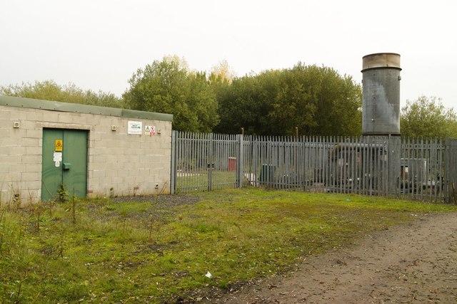Landfill Gas Generator, Red Moss