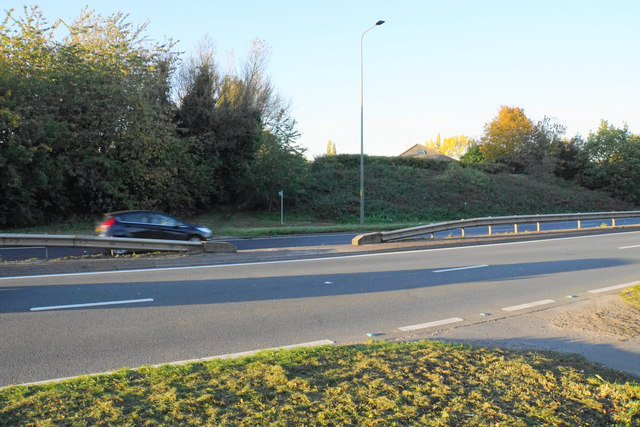 Footpath across the East Lancs Road
