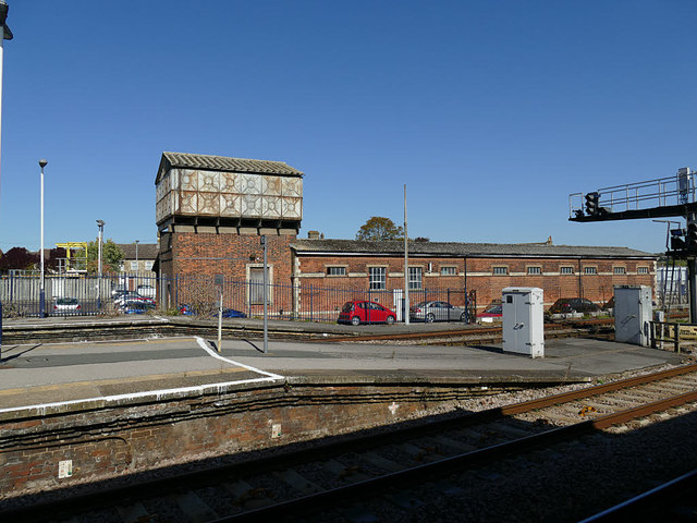 Salisbury station: old GWR station buildings