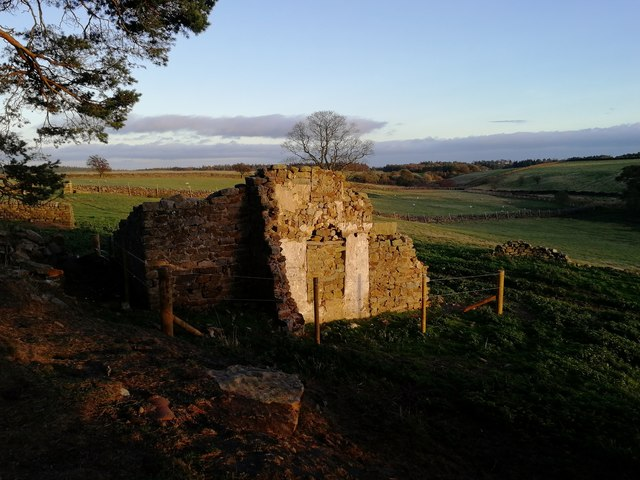 All that remains of Craven Gill farmhouse