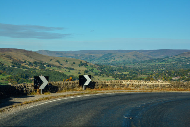 Derbyshire Dales : The A6187