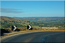 SK2479 : Derbyshire Dales : The A6187 by Lewis Clarke