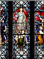 SD8010 : Bury Parish Church - Stained Glass Window Detail by David Dixon