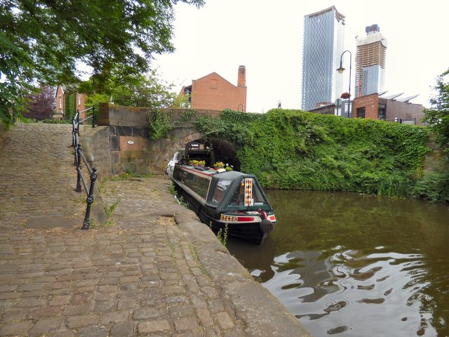 The end of the Rochdale Canal