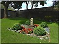 NS7894 : Stirling Castle: sundial in the Douglas Garden by Lairich Rig