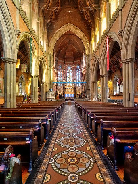 Bury Parish Church, The Nave