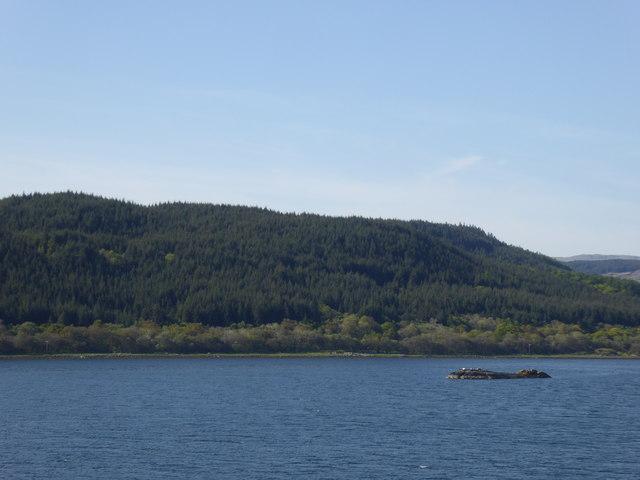 Sgeir an t-Snidh, West Loch Tarbert