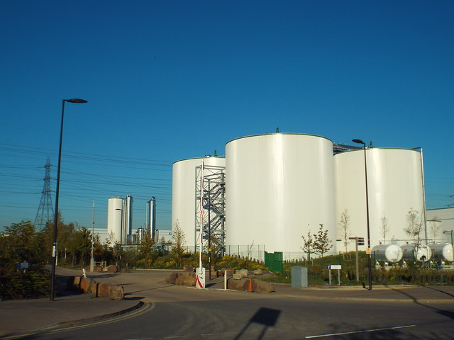 Reef Street and bio-energy plant, Dagenham