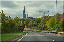SK3871 : Chesterfield : Rother Way A61 by Lewis Clarke