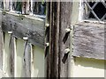 SD4615 : Pegs in  the joints of Rufford Old Hall by Steve Daniels