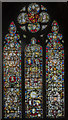 SK7519 : Medieval glass window, St Mary's church, Melton Mowbray by Julian P Guffogg