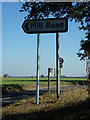 TM4297 : Roadsign on Loddon Road by Adrian Cable