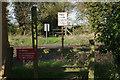 SP8105 : Footpath crossing, Monks Risborough by Stephen McKay
