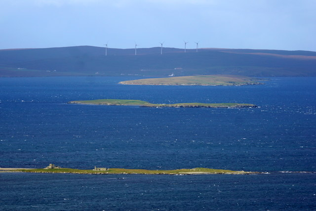 Urie Ness, Fetlar, from Stackaberg
