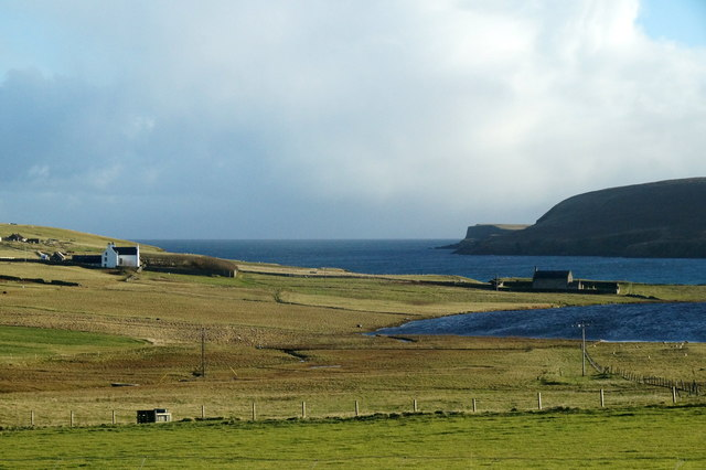 The Manse and the Kirk at Tresta, Fetlar