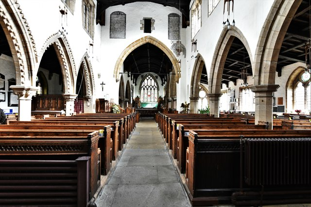 Bedale, St. Gregory's Church: The nave