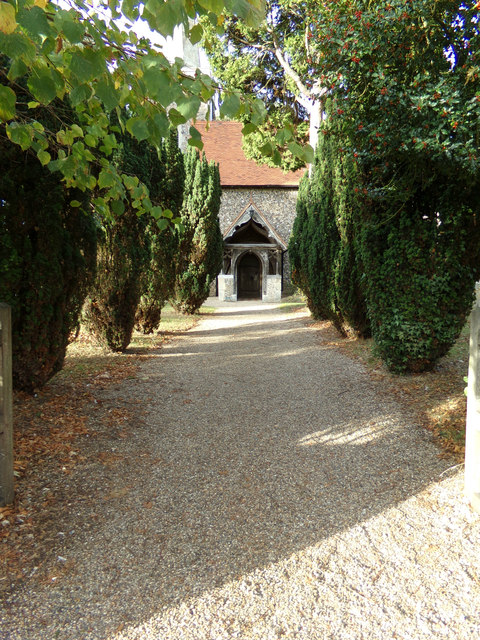 Church Path to St. Margaret & St. Catherine's Church