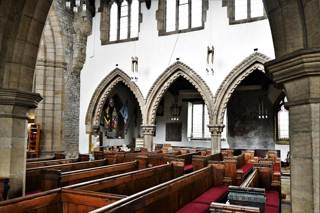 Bedale, St. Gregory's Church: The nave © Michael Garlick