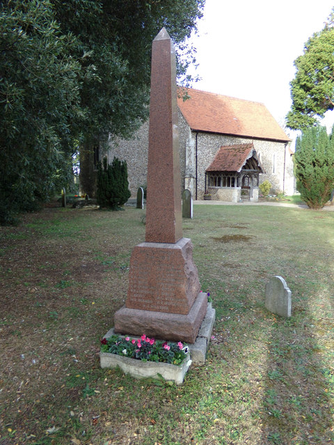 Aldham War Memorial