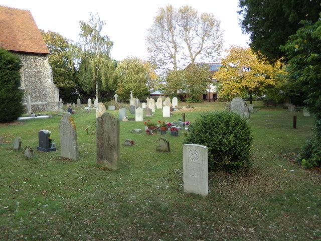 St. Margaret & St. Catherine's Churchyard