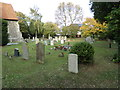 TL9125 : St. Margaret & St. Catherine's Churchyard by Geographer