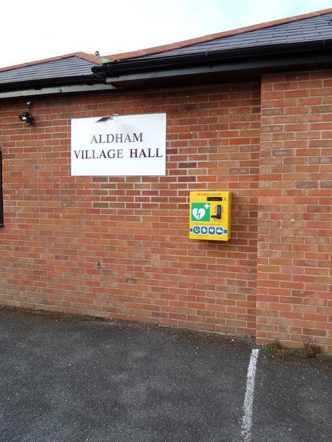 Aldham Defibrillator