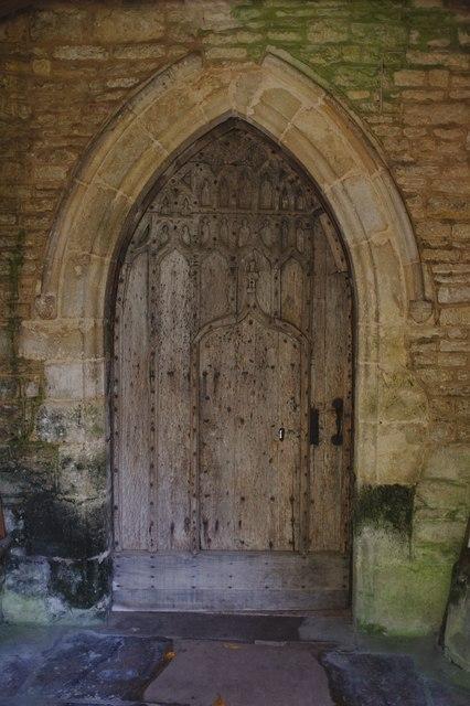 The Church of St Bartholomew: the Door